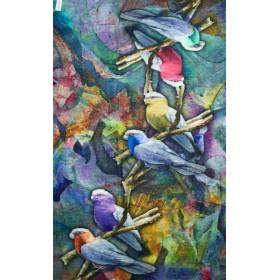 Echarpe Otra Cosa 6 parrots