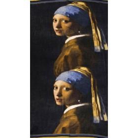 Vermeer : Jeune fille à la...