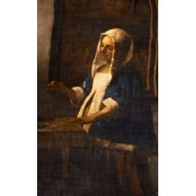 Vermeer: Women holding balance